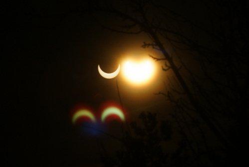 Sonnenfinsternis 4.1.2011