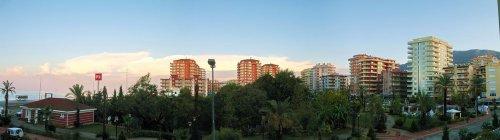 Panorama Mahmutlar bei Tag