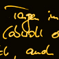 Handschriftposting - Baumgarf